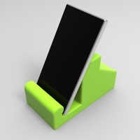 Small Smartphone cradle 3D Printing 21349
