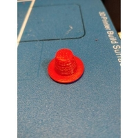 Small Lifetime Wave Youth Kayak drain plug/cap 3D Printing 213504
