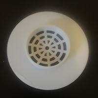 Small Flexible Shower Drain Cover 3D Printing 213508