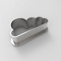Small Cloud cookie-cutter 3D Printing 21361