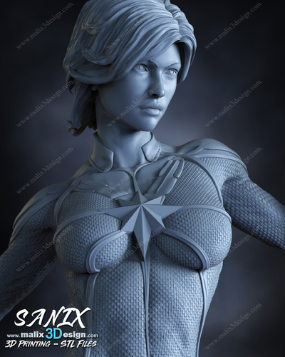 Captain Marvel - Avengers 3D Print 213643
