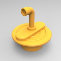 Small Bathtub plug 3D Printing 21368