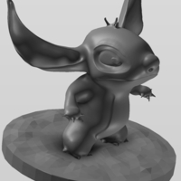 Small Disney Stitch  3D Printing 213697