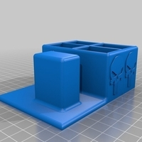 Small gun stand punisher 3D Printing 213765