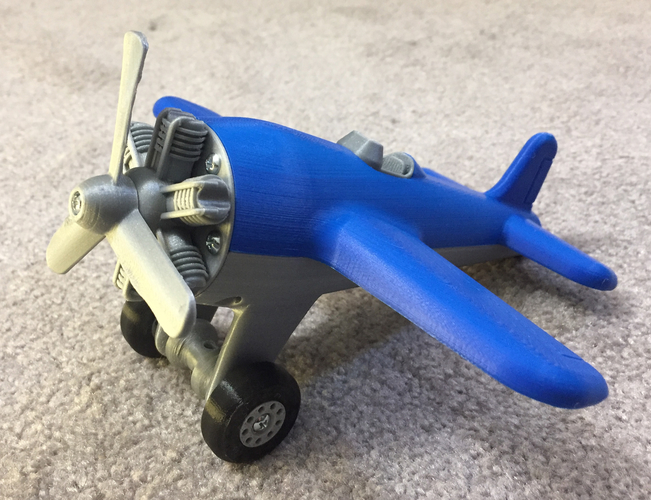 Toy Airplane 3D Print 213850