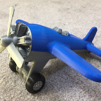 Small Toy Airplane 3D Printing 213850