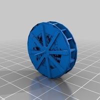 Small Water Wheel 3D Printing 213869
