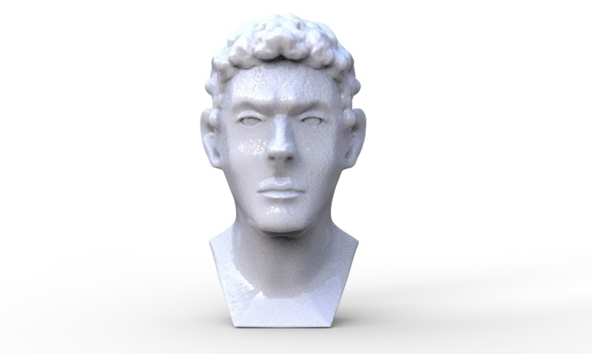 Greek Bust 3D Print 213925