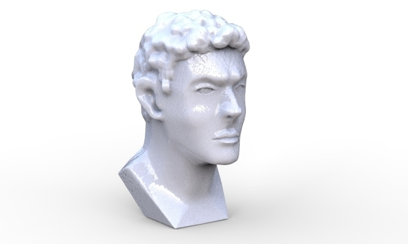 Greek Bust 3D Print 213926