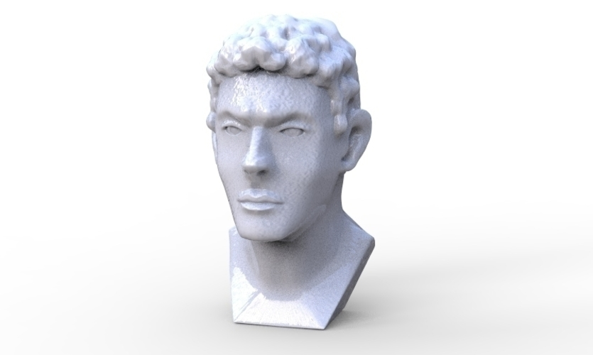 Greek Bust 3D Print 213927