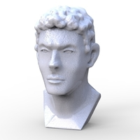 Small Greek Bust 3D Printing 213927