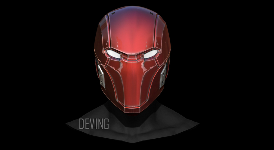 RED HOOD HELMET-INJUSTICE 2 3D print model 3D Print 214027