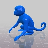 Small Monkey 3D Printing 214070