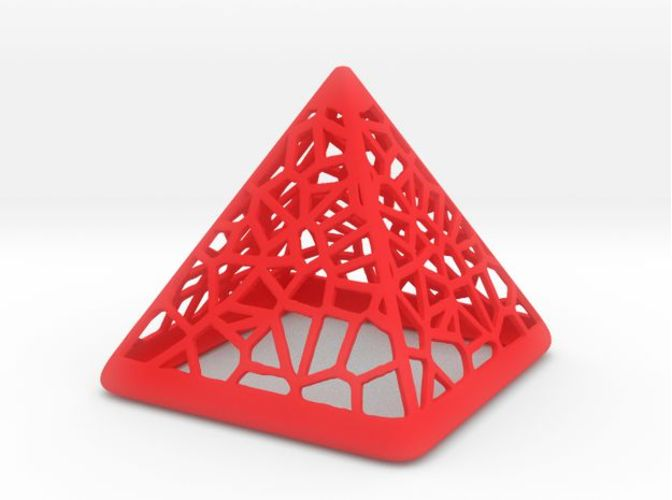 Wired Pyramid 3D Print 21410