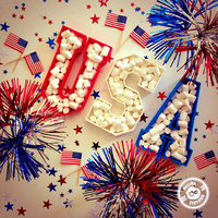 Small USA Plates (4th of July Special Edition) 3D Printing 21423