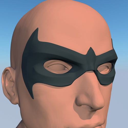 MASK NIGHTWING REBIRTH 2.0 3D Print 214233