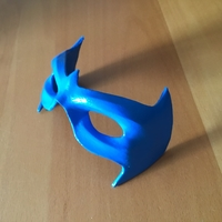 Small MASK NIGHTWING REBIRTH 2.0 3D Printing 214234