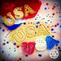 Small USA Cookie Cutter (4th of July Special Edition) 3D Printing 21429