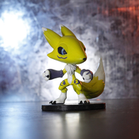 Small Renamon Digimon 3D Printing 214324