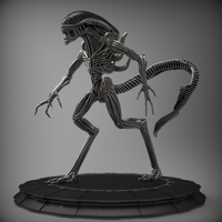 Small Alien 3D Printing 214336