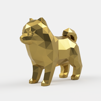 Small Spitz Low Poly 3D Printing 214372