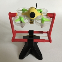 Small Micro Quadcopter Drone Balancing Tool and Stand 3D Printing 214426