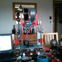 Small Prusa i3 dual spool holders 3D Printing 21443