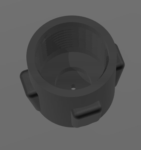 SCUBA - DIN Regulator Dust Cap 01 3D Print 214464