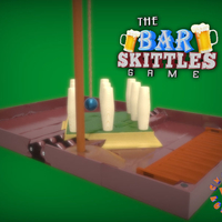 Small The Bar Skittles Game 3D Printing 214572