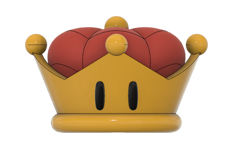 Super Crown (Bowsette)  3D Print 214764
