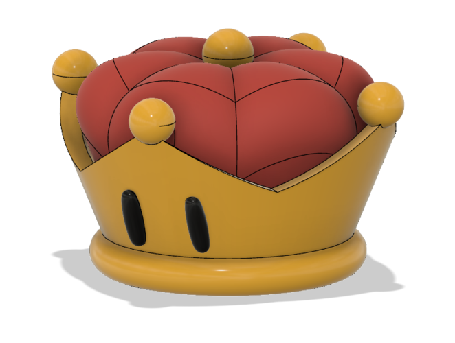 Super Crown (Bowsette)  3D Print 214765