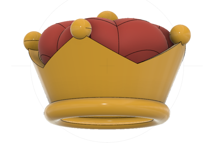 Super Crown (Bowsette)  3D Print 214766