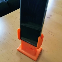 Small HUAWEI Mate 10 Pro table stand ( wall holder ) 3D Printing 214840