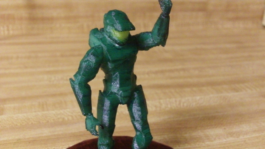 Master Chief Victory 3D Print 21486