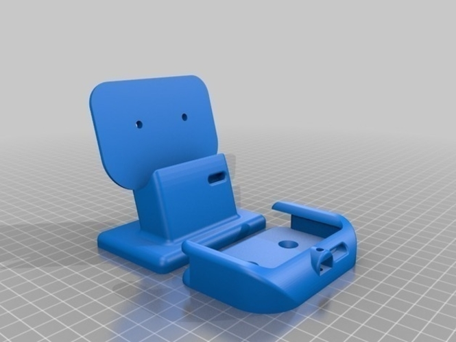 HUAWEI Mate 10 Pro table stand ( wall holder ) 3D Print 214896