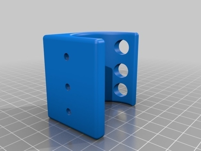 PlayStation 4 VR Aim Controller holder clip for wall and table 3D Print 214906
