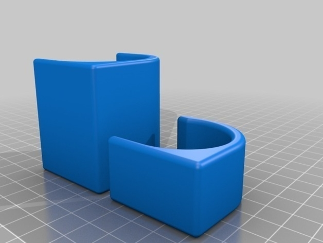 PlayStation 4 VR Aim Controller holder clip for wall and table 3D Print 214909