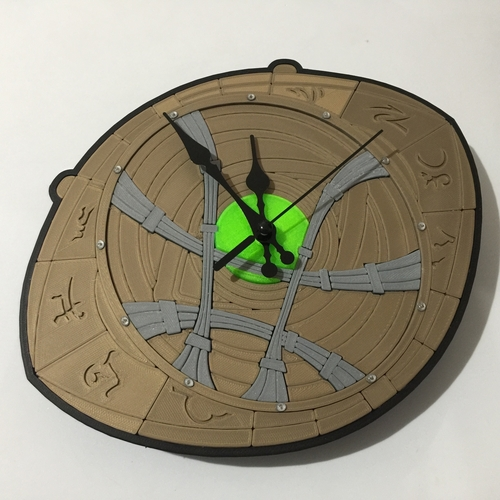 Dr Strange Eye of Agamotto Clock 3D Print 214988