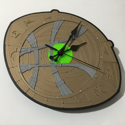 Dr Strange Eye of Agamotto Clock 3D Print 214989