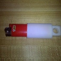 Small Bic Lighter Holster 3D Printing 21499