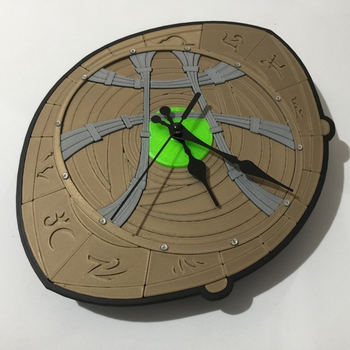 Dr Strange Eye of Agamotto Clock 3D Print 214990