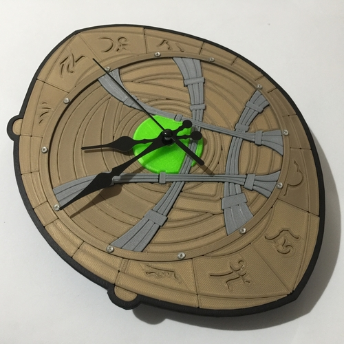Dr Strange Eye of Agamotto Clock 3D Print 214991