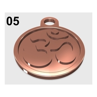 Small OM - Pendant 05 3D Printing 215044