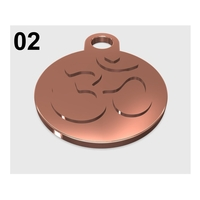 Small OM - Pendant 02 3D Printing 215048