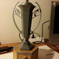 Small Rugby trophy 3D Printing 215068