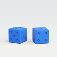 Small Dice 3D Printing 215103