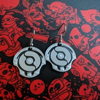 Small Aegis Dota Earrings 3D Printing 215240