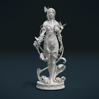 Small Dryad Fairy 3D Printing 215311