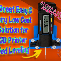 Small An Easy & Low Cost Solution for 3D Printer Bed Leveling 3D Printing 215550