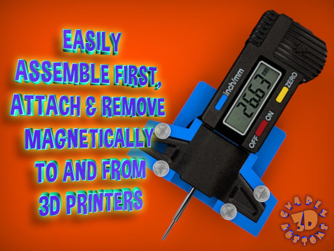 An Easy & Low Cost Solution for 3D Printer Bed Leveling 3D Print 215551